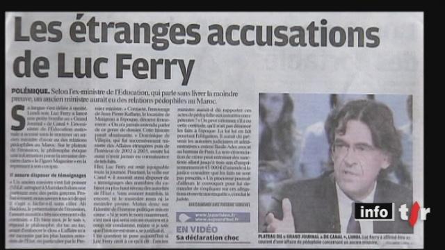 France: le parquet de Paris a ouvert une enquête préliminaire sur un cas d'ancien ministre coupable de pédophilie