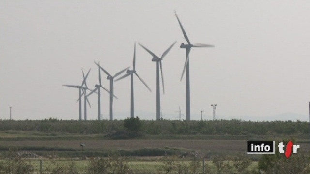 Sortie du nucléaire: l'énergie éolienne fait partie des paris sur l'avenir, reportage en Espagne