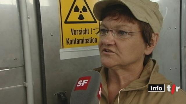 Sortie du nucléaire: reportage sur le démantèlement d'une centrale nucléaire au Nord de l'Allemagne