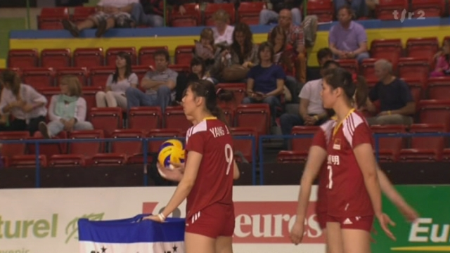 Volleyball/Masters de Montreux (demi-finale): le Japon bat la Chine