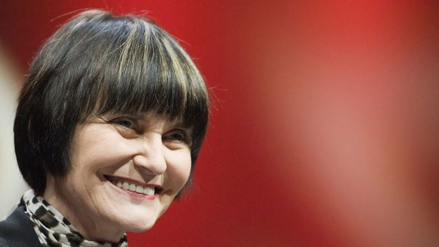 Micheline Calmy-Rey, cheffe du Département fédéral des affaires étrangères (DFAE). [peter schneider]
