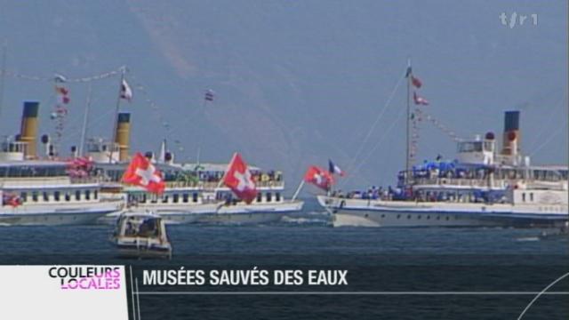 Les bateaux «Belle Epoque» du lac Léman ont été classés monuments historiques par les autorités vaudoises, qui s'engagent à les entretenir