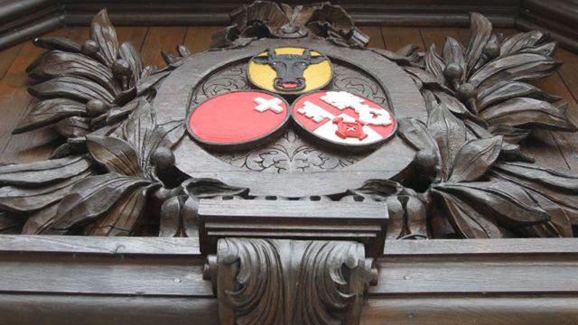 Emblèmes des Waldstätten, Uri, Schwytz et Unterwald. [Delphine Gendre - RTS]