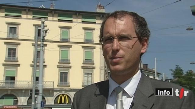 Le conseiller d'Etat genevois, Mark Muller, paie 1800 francs plus les charges pour un sept pièces. C'est bien moins cher que le prix du marché