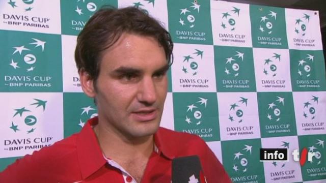Tennis / Coupe Davis: Stanislas Wawrinka et Roger Federer ont souffert plus que prévu face au Portugal vendredi après-midi à Berne
