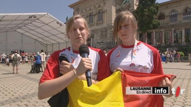 Gymnaestrada : les impressions de Céline Miroir, gymnaste belge