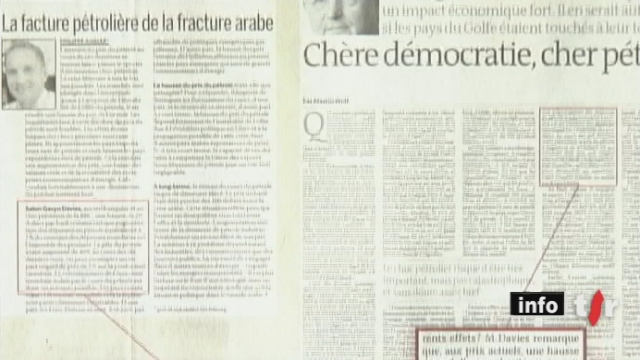Le professeur Philippe Gugler, l'un des vice-recteurs de l'Université de Fribourg, aurait copié des passages entiers d'articles parus notamment dans le Monde pour alimenter ses chroniques dans la Liberté
