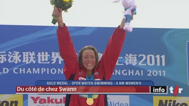 La genevoise Swann Oberson a remporté le 5 kilomètres en eau libre aux Mondiaux de Shanghai