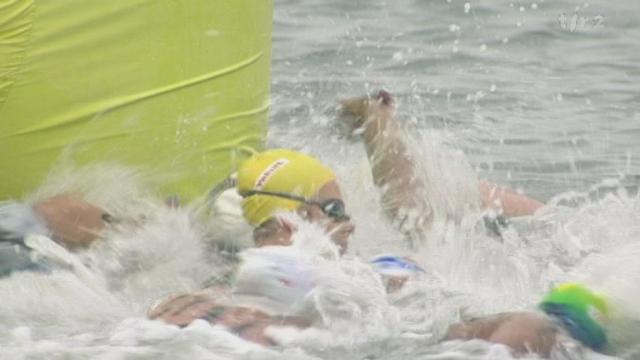 Natation: la genevoise Swann Oberson a remporté le 5 kilomètres en eau libre aux Mondiaux de Shanghai