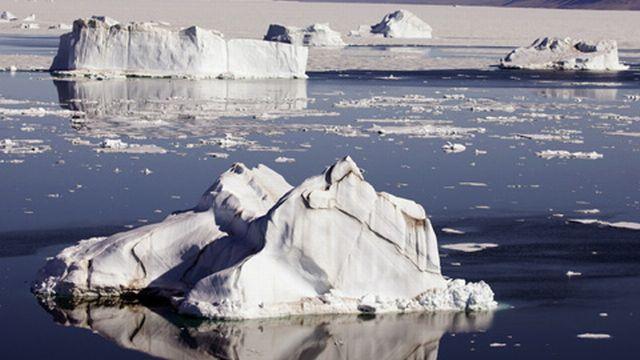 Banquise et icebergs: autant de pièges pour les navigateurs. [KEYSTONE]
