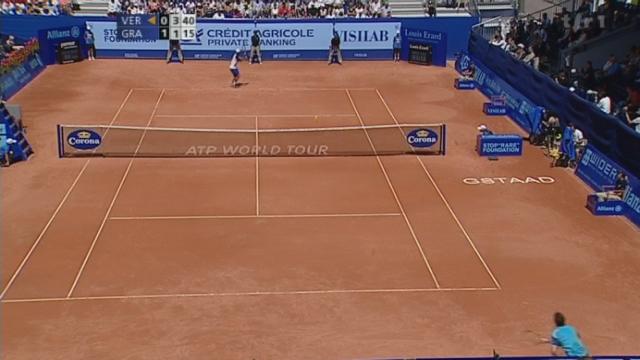 Tennis / Gstaad (finale): Granollers - Verdasco (6-4 3-6 6-3)
