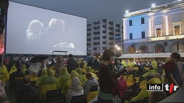 Festival du film de Locarno: des grands noms du cinéma étaient présents pour la soirée d'ouverture