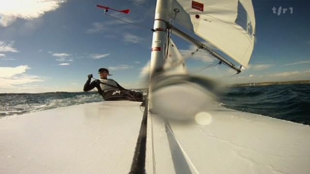 Voile: rencontre avec Nathalie Brugger, navigatrice qui visera les sommets aux Jeux olympiques de Londres de 2012