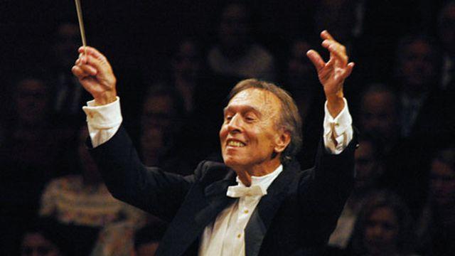Le prestigieux chef d'orchestre italien Claudio Abbado [Festival de Lucerne]