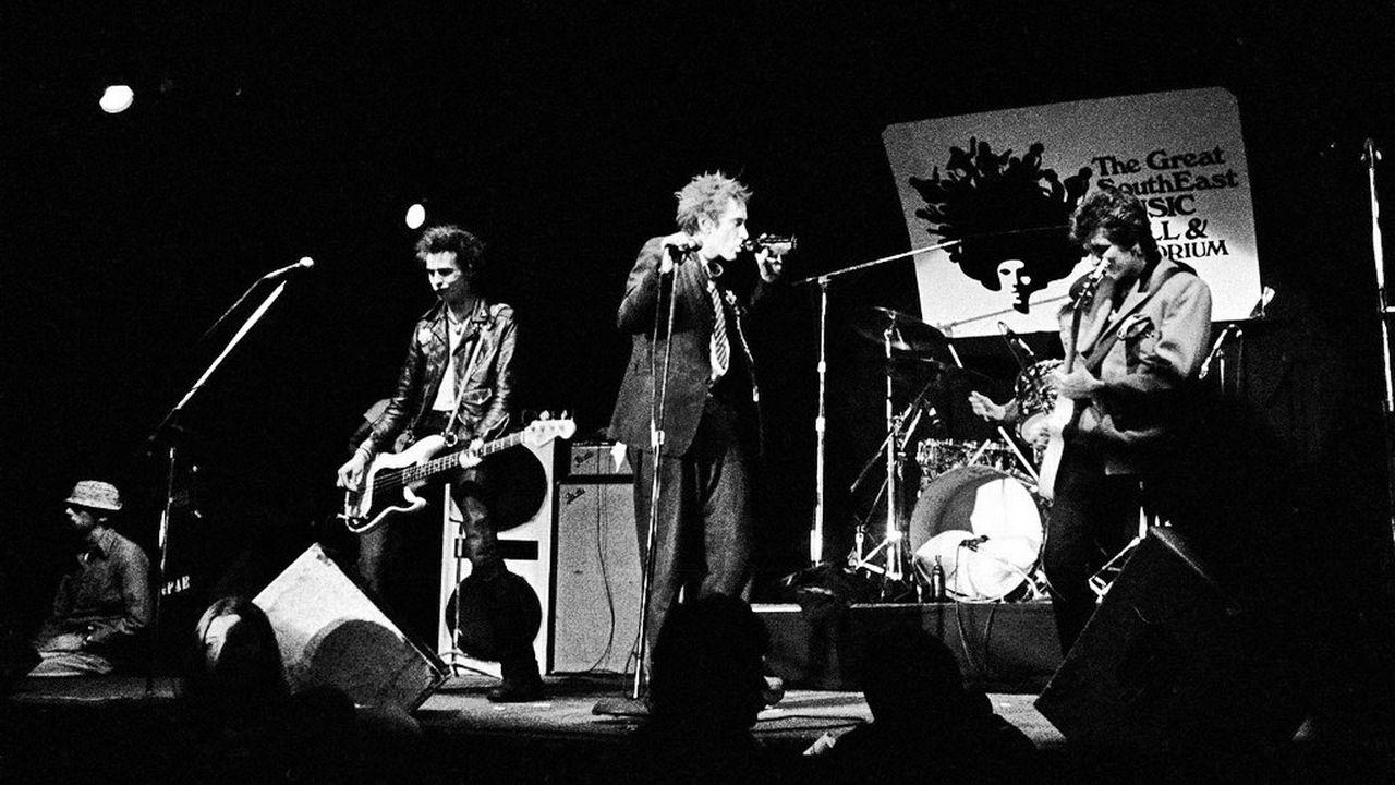 Les Sex Pistols en 1978 à Atlanta. [AP/Keystone]