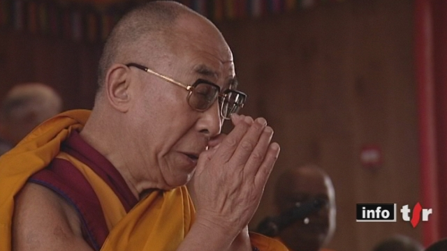 Le Dalai Lama a rencontré ses fidèles non loin de nos frontières sur le Salève
