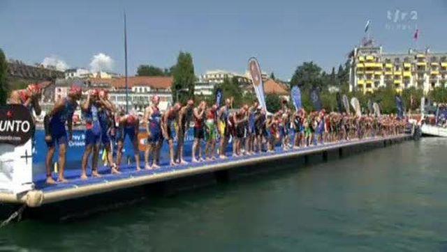 Triathlon / Mondiaux de Lausanne: départ du sprint messieurs