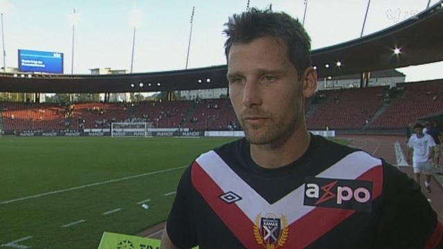 Football/Super League (6j): résumé du match Neuchâtel - Zürich (2 - 0) et interview de Stéphane Besle, défenseur de Neuchâtel