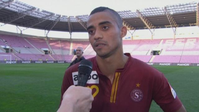 Football/Super League (6j): résumé du match Servette - Grasshopper (3 - 4) et interview de Eudis, attaquant de GE Servette
