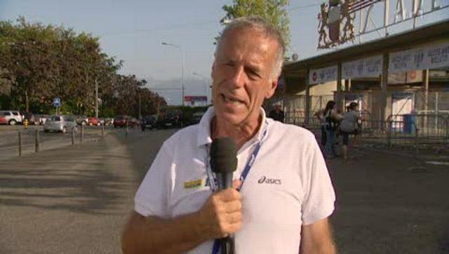 Triathlon/Championnat du monde à Lausanne (VD): la Suisse a remporté la médaille d'argent lors de l'épreuve du relais mixte et interview de Claude Thomas, président du comité d'organisation