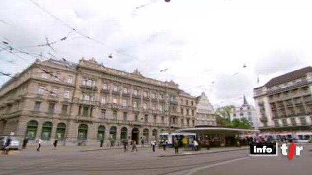 La banque, UBS, prévoit de supprimer 3500 emplois dont 400 en Suisse