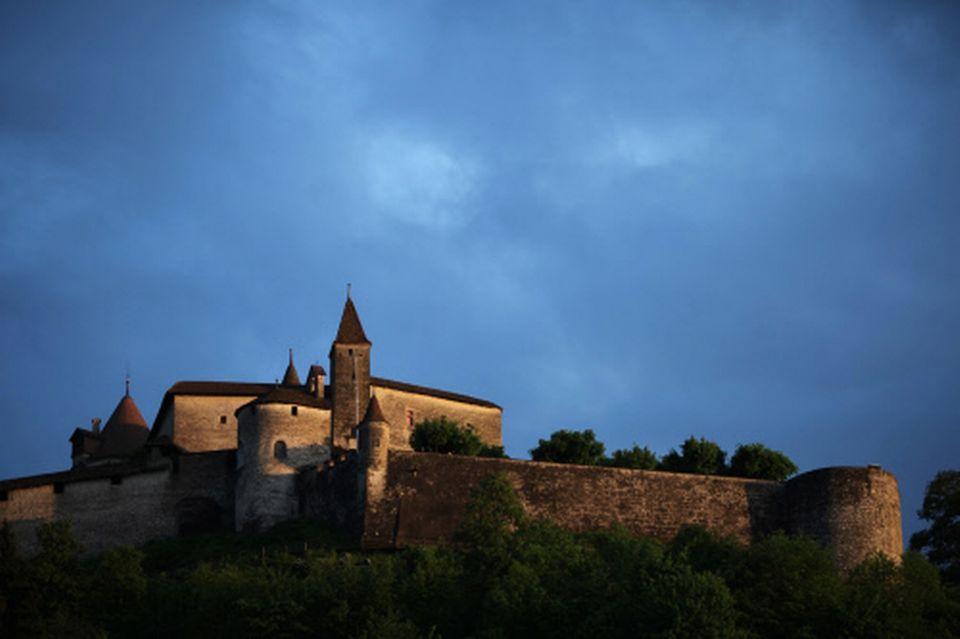 Le Château de Gruyère [Romain Guélat - RTS]