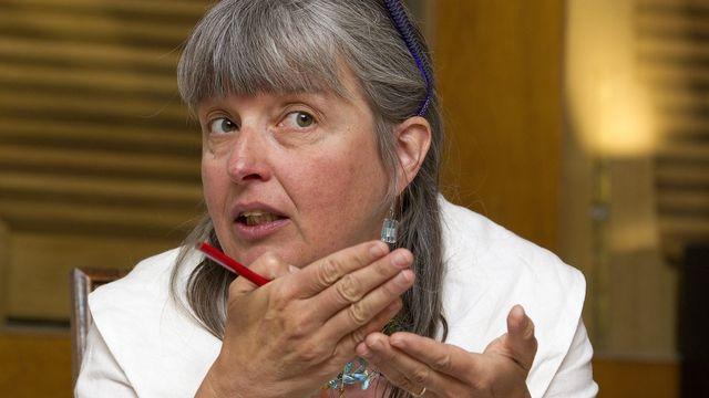 Michèle Künzler, conseillère d'Etat genevoise au Département de l'intérieur et de la mobilité. [Salvatore Di Nolfi) - Keystone]