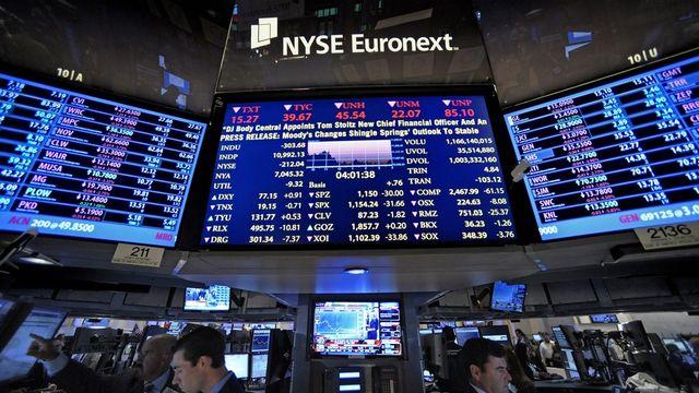 Le répit est bienvenu mardi pour les bourses européennes après un lundi noir où elles avaient cédé entre 1,6 et 4%. [Peter Foley - Keystone]