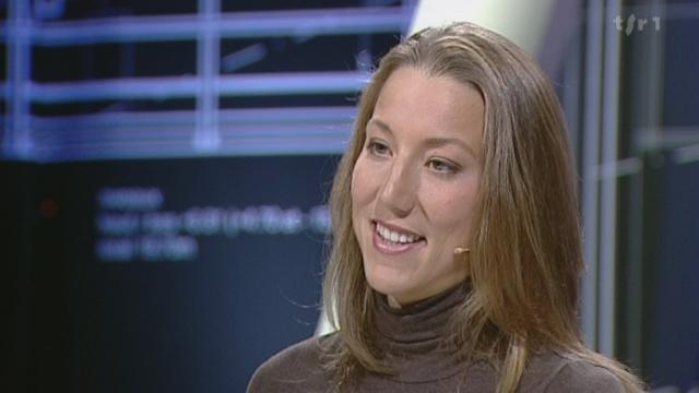 Images sexy et sport: interview de la nageuse suisse Swann Oberson
