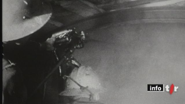 Barrage de la Grande Dixence (VS): l'ouvrage a été achevé il y a cinquante ans