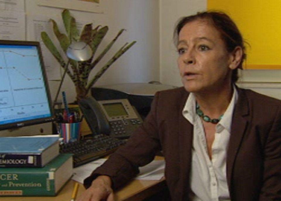 Christine Bouchardy, épidémiologiste et médecin responsable du registre genevois des tumeurs [TSR]