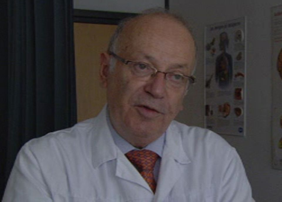 Prof. Roger Darioli, vice président de la société Suisse de nutrition [TSR]