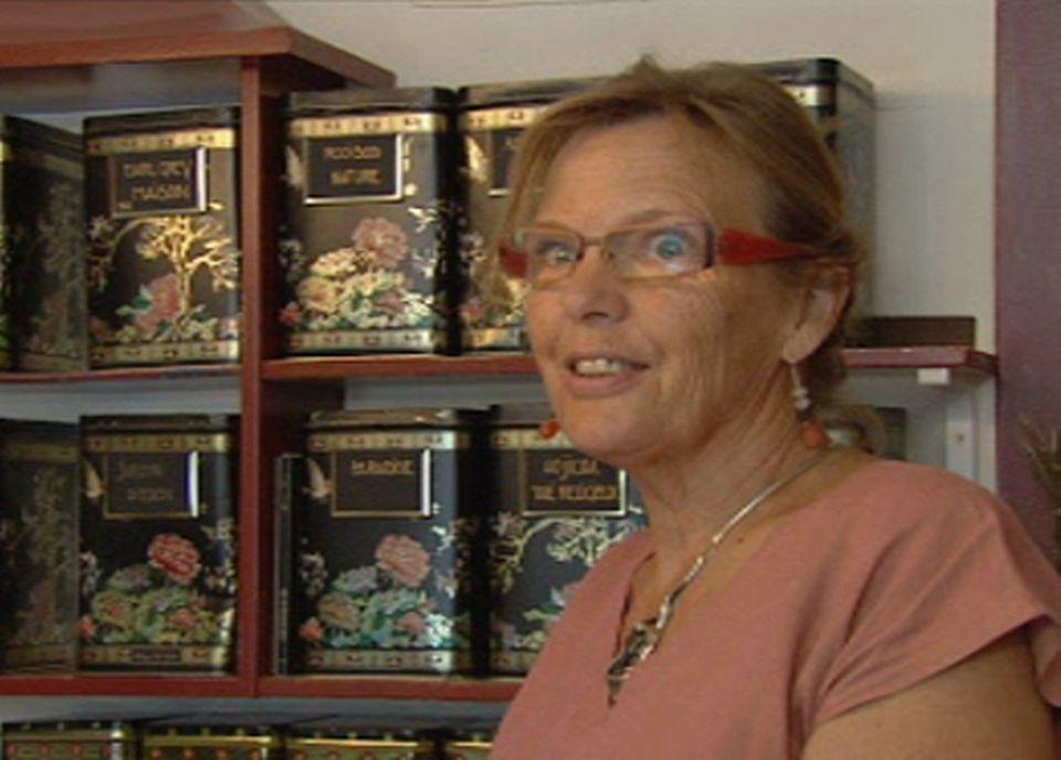 Ursula Selig, vendeuse de thé [TSR]