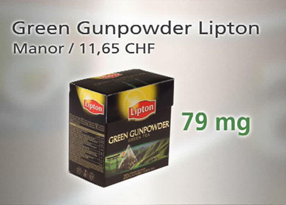 Green Gunpowder Lipton - EGCG [TSR]