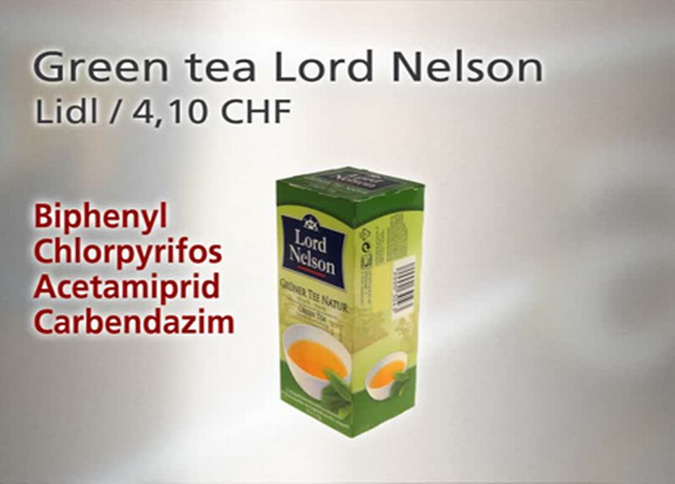 Green tea Lord Nelson [TSR]