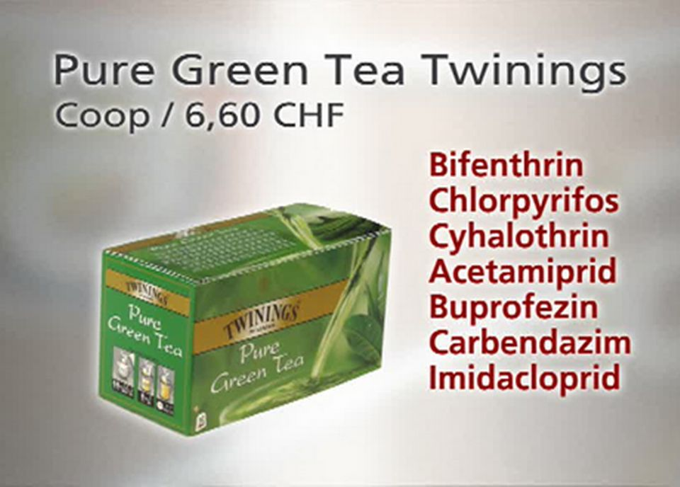 Pure Green Tea Twinings [TSR]