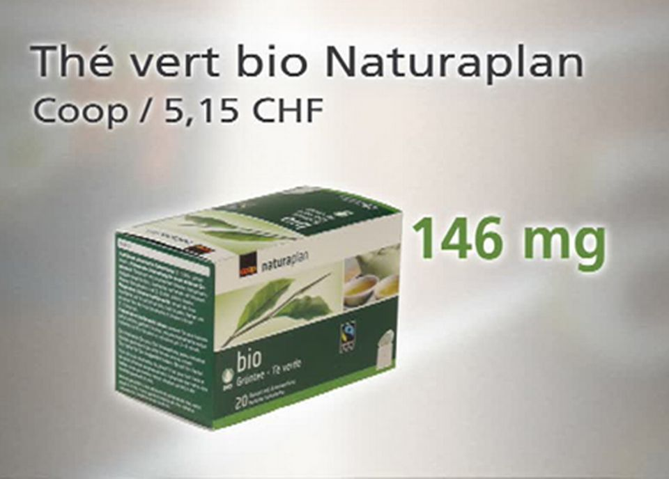 Thé vert bio Naturaplan - EGCG [TSR]