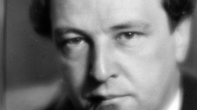 Le compositeur suisse Arthur Honegger (1892-1955), ici à Paris en 1935. [AFP]