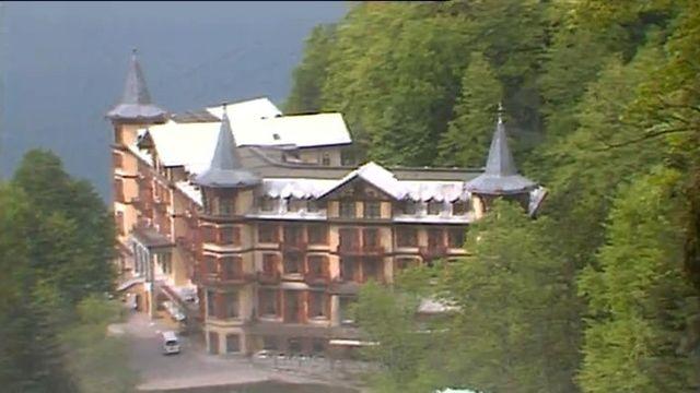 Le magnifique Grand Hôtel dans l'Oberland bernois est sauvé.