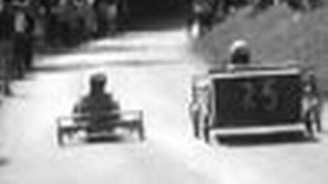 Une course épique de caisses à savon à Neuchâtel.