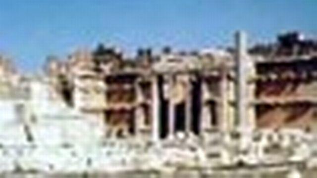 Dans les cités du Proche-Orient, aux portes de l'empire romain.