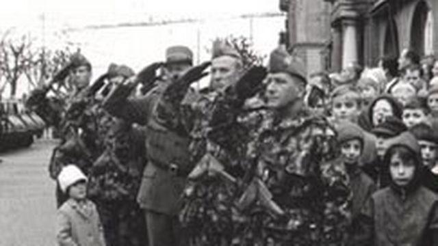 Au temps lointain des défilés militaires