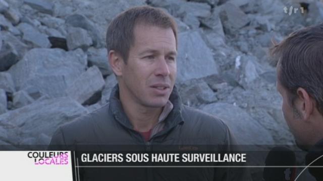 Fonte des glaciers: les instituts et les facultés surveillent de près nos glaciers notamment au col des Gentianes (VS)