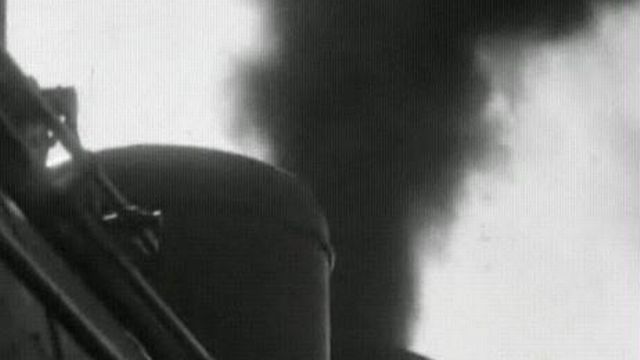 En train à vapeur [TSR, 1961]