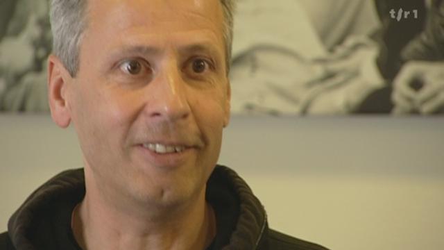 Football: itw Lucien Favre, entraîneur Borussia Mönchengladbach