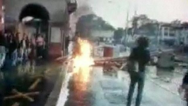 Violences à Zurich [TSR 1980]