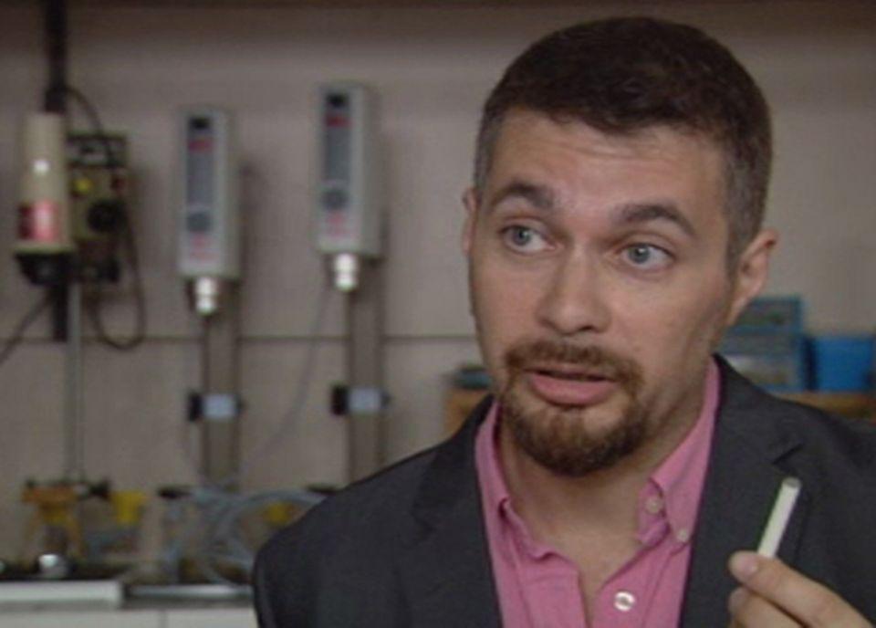 Vincent Perret, spécialiste en toxicologie industrielle