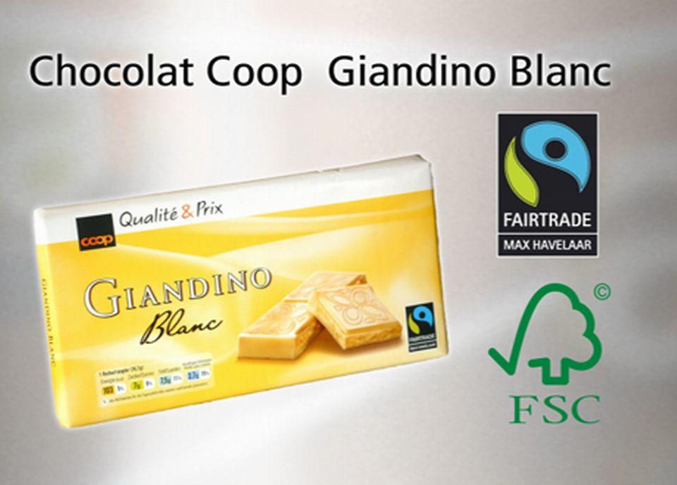 Chocolat Coop Giardino Blanc
