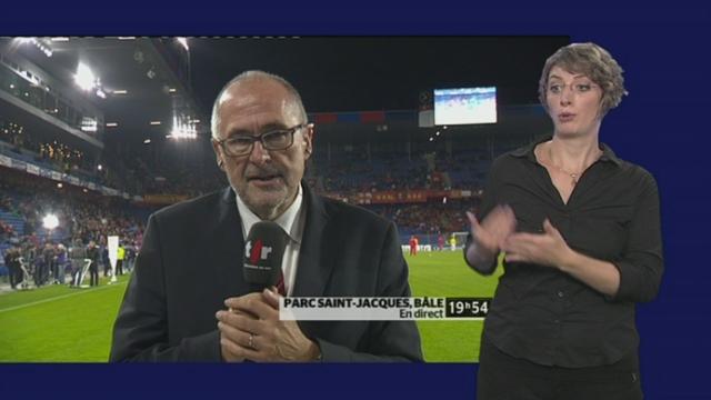 Football / Euro 2012 (éliminatoires): Suisse - Monténégro. Interview de Peter Gilliéron, président de l'Association Suisse de Football