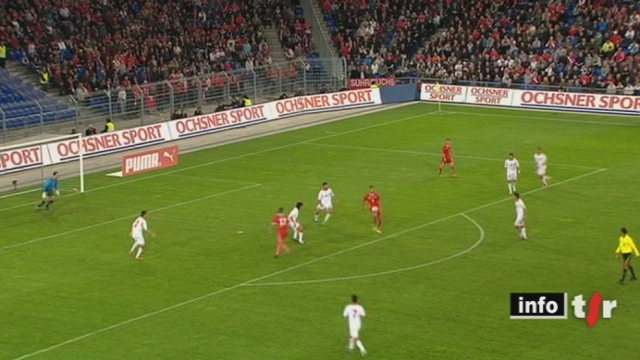 Qualifications Euro 2012: l'équipe de Suisse a remporté mardi soir son dernier match de qualification face au Monténégro